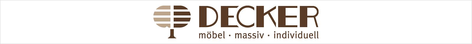 Decker - Massivholzmöbel für den Wohnraum, Essraum und die Küche